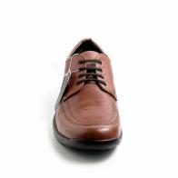 Stonefly 86398 Scarpa in pelle morbida marrone con lacci